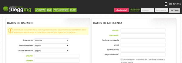 juegging_registro