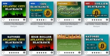 Bitcasino Blackjack