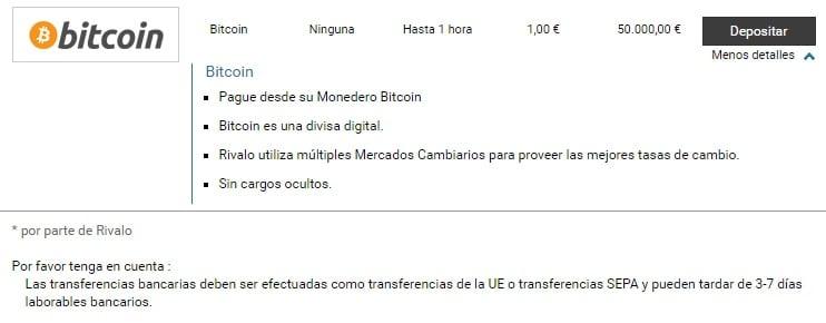 Rivalo Bitcoin