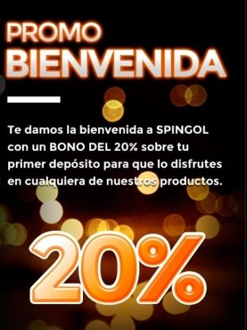 Spingol Promo de Bienvenida