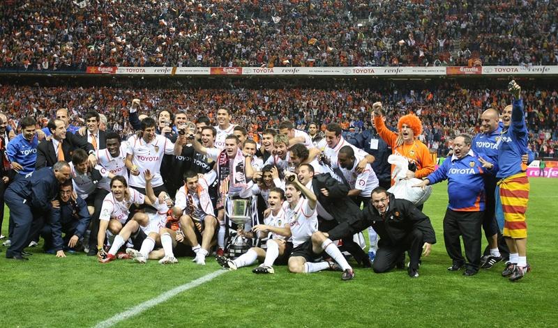 Valencia campeón Copa del Rey