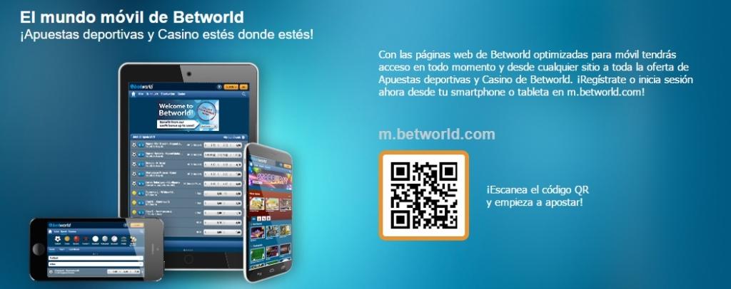 betworld móvil