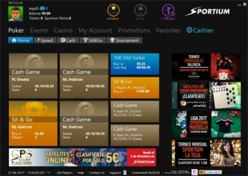 Sportium poker software