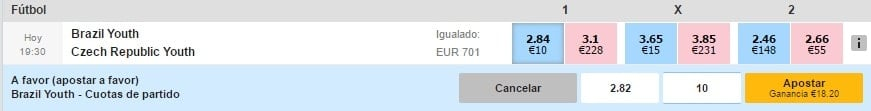Betfair Exchange a favor 2