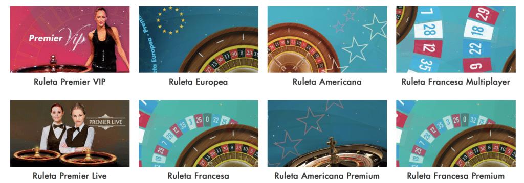 StarCasino Ruletas