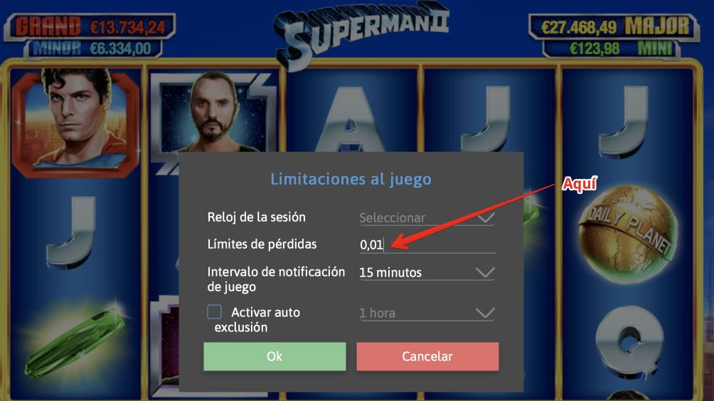 William Hill límite de pérdidas