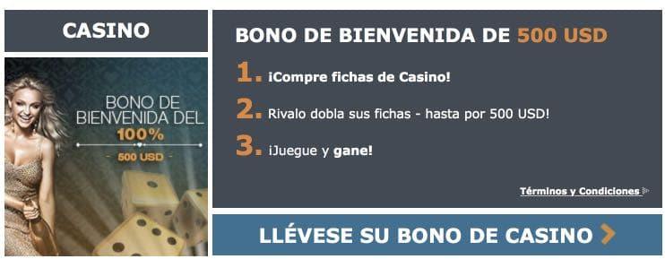 Rivalo Casino Bono