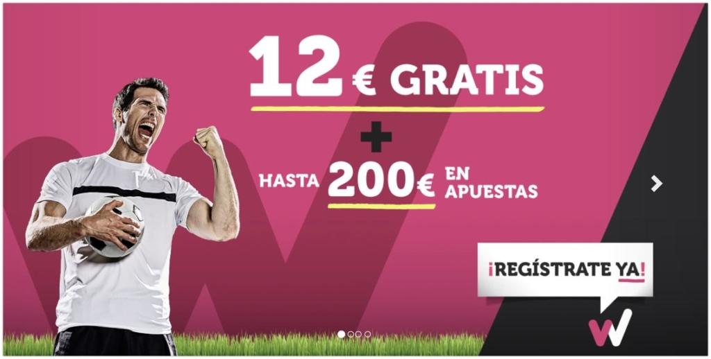 Wanabet bono 12€ gratis