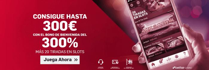 betfair_bono_casino_nuevo_2018