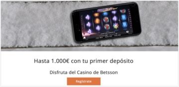 Betsson.es casino análisis