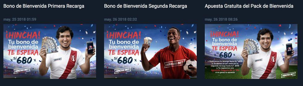 Hincha Bet bono