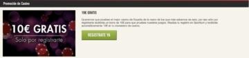 Sportium 10€ gratis
