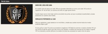 Sportium Casino Club VIP