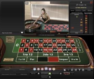 Sportium Casino Ruleta en vivo
