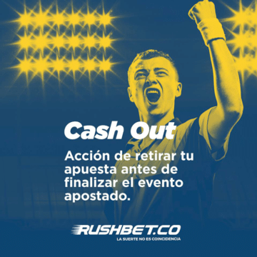 Rushbet Colombia banner cash out deportes