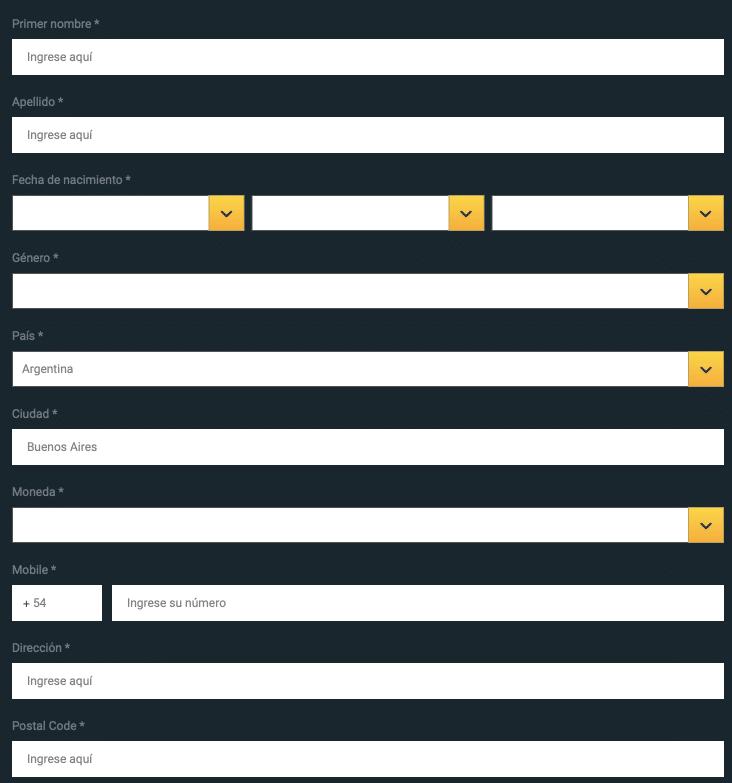 Campeonbet registro