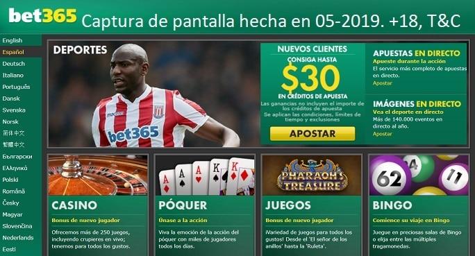 Apuestas Deportivas Bolivia bet365