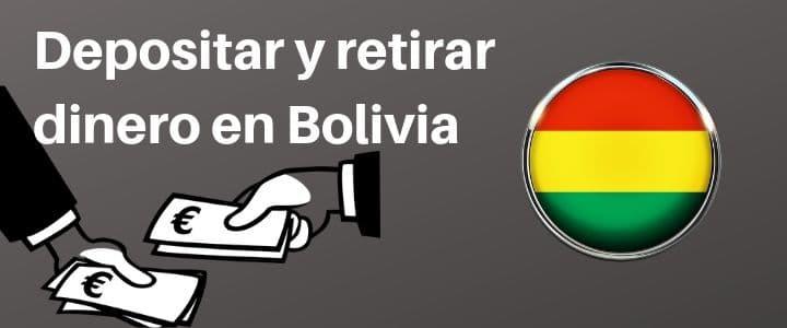 Apuestas Deportivas Bolivia Depósitos y Retiros