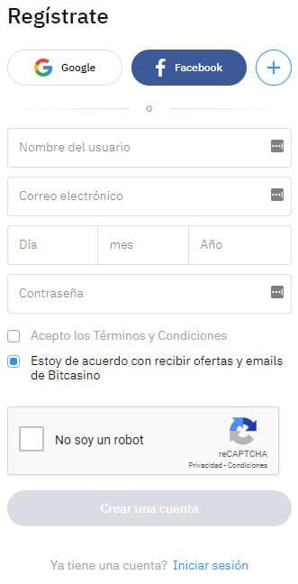 bitcasino-registro