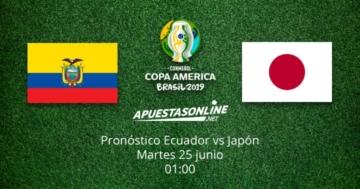 Pronóstico Ecuador Japón