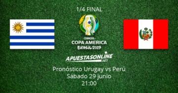 Pronóstico Uruguay Perú