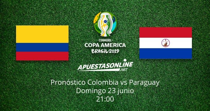 Pronostico Colombia Paraguay