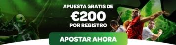 Spin Sports apuesta gratis por registro
