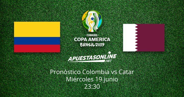 Pronóstico Colombia Catar