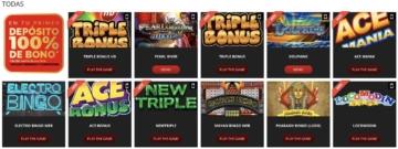 Mustang Money bingo juegos