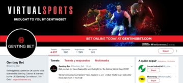 Gentingbet redes sociales twitter