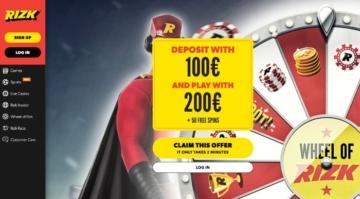 Rizk casino página principal casino