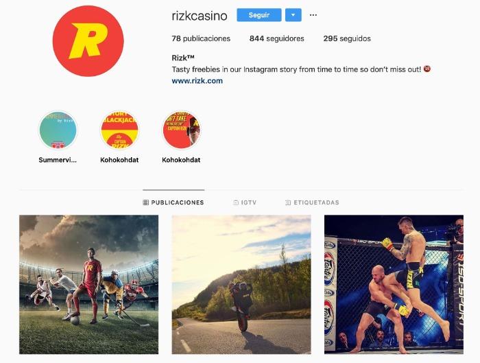 Instagram Rizk