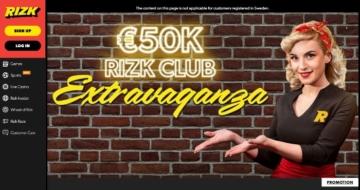 Rizk promoción exclusiva