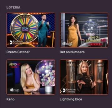 BetWarrior Loteria casino
