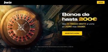 bwin bono bienvenida casino tiradas gratis