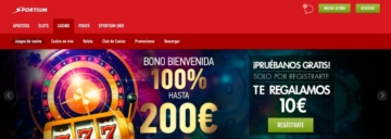 apuestas online sportium bono bienvenida casino
