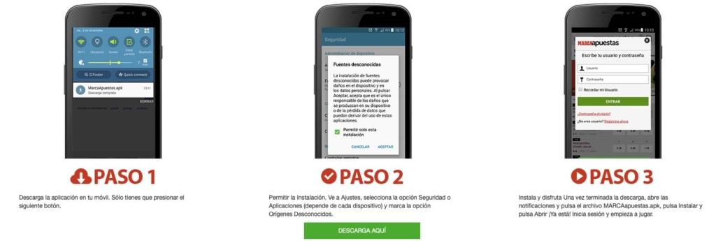 App MarcaApuestas Android