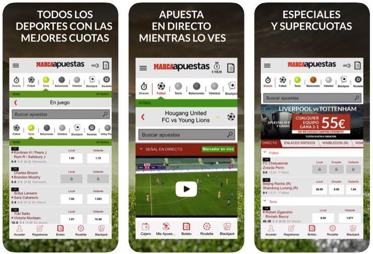 App MarcaApuestas iOS