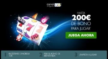 canal bingo españa hasta 200 euros bono