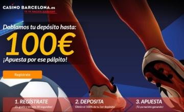 Casino Barcelona 100 euros depósito apuestas