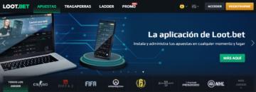 Loot bet aplicación móvil de apuestas y tragaperras