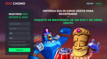 apuestas online joo casino bono bienvenida