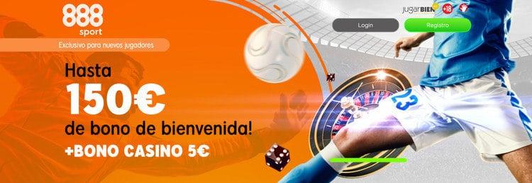 888sport Bono Bienvenida Apuestas Deportivas