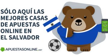 Mejores Casas de Apuestas El Salvador Betto bandera y balón