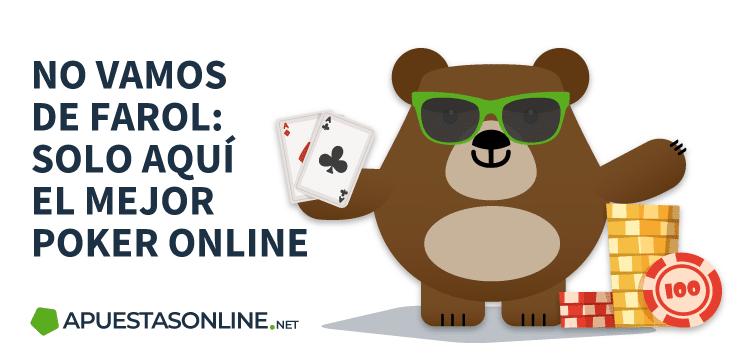 Sólo aquí las Mejores Salas de Póker Online