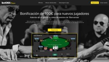 Bonificación bienvenida bet365 nuevos jugadores Poker
