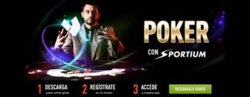 Oferta de bienvenida en para Poker en Sportium