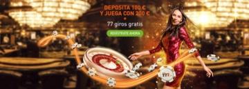 Bono Bienvenida Casino777