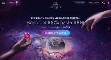 Bono de Bienvenida para España de Génesis Casino