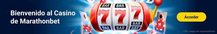 Bienvenida al Casino Marathonbet